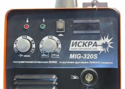 Искра MIG 320 - простота