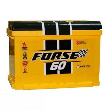 Автомобильный аккумулятор Forse 6СТ-60 фото