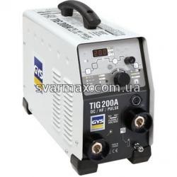 Сварочный инвертор GYS TIG 200 DC HF FV